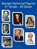 2nd Grade All Seven Historical Figures for GPS:  Reader'sTheater review for CRCT