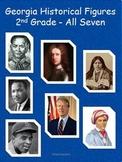 2nd Grade All Seven Historical Figures for GPS:  Reader'sT