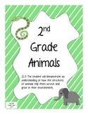 2nd Grade Animal Packet