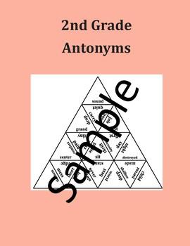 2nd Grade Antonyms - Puzzle
