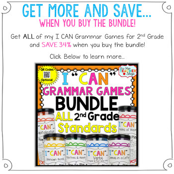 2nd Grade Apostrophes Game   Contractions & Possessive Nouns