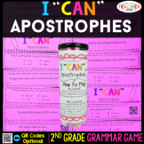2nd Grade Apostrophes Game | Contractions & Possessive Nouns