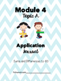 2nd Grade Application Journal Engage NY Module 4 Topic A