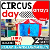 Repeated Addition Arrays | 2nd Grade Circus Classroom Transformation