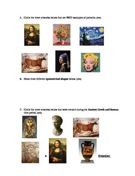 2nd Grade Art SLO Assessment