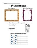 2nd Grade Art Skills Test