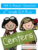 2nd Grade Ask & Answer Questions Centers CC RL.2.1