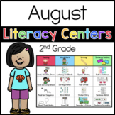 2nd Grade August Literacy Centers
