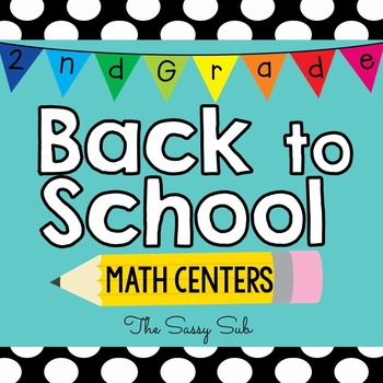 2nd Grade Back to School Math Centers
