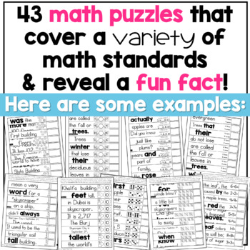 2nd Grade Back to School Math Centers | Unlock the Fact | Interactive Notebook