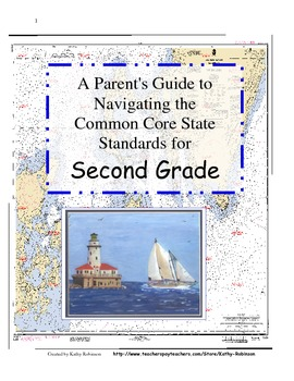 2nd Gr. Back to School Parents Guide to Navigating the Common Core Standards