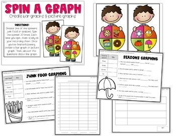 2nd Grade Bar Graphs & Picture Graphs Centers for 2.MD.10