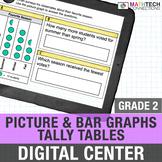 2nd Grade Digital Math Activities Bar Graphs, Picture Grap