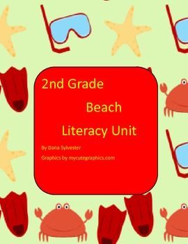 2nd Grade  Beached Theme Literacy Activities