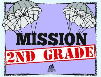 2nd Grade Beginning of the Year Writing Activities {Spy Theme & Editable}