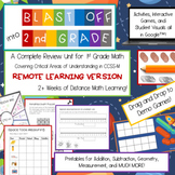 2nd Grade Beginning of the Year Review--REMOTE edition