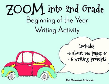 2nd Grade Beginning of the Year Writing Activity