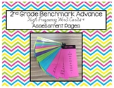 2nd Grade Benchmark Advance High Frequency Word Cards & As