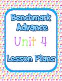 2nd Grade Benchmark Advance Lesson Plans Unit 4 Editable