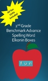 2nd Grade Benchmark Advance Spelling Word Elkonin Boxes