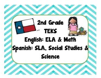 2nd Grade Bilingual TEKS Checklist