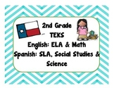 2nd Grade Bilingual TEKS Checklist