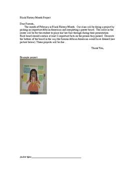 2nd Grade Black History Project