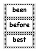 Word Wall Set: 2nd Grade Black and White Stars