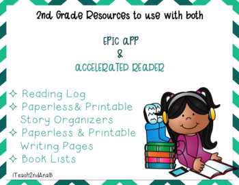 2nd Grade Book List to use with the EPIC APP