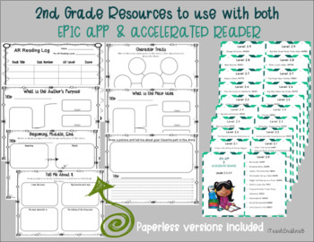 2nd Grade Resources for EPIC App and Accelerated Reader (AR)