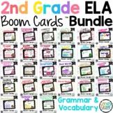 2nd Grade Boom Cards Distance Learning ELA Bundle: Digital
