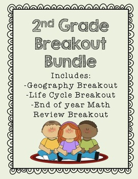 2nd Grade Breakout Bundle