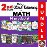 2nd Grade Bundle: Close Reading in Math