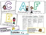 2nd Grade CAFE Board aligned to TEKS!