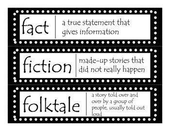 2nd Grade CCGPS ELA Word Wall Vocabulary Cards - Black Polka Dots