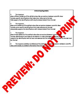 2nd Grade CCSS Describing Connections Assessment Bank RI.2.3
