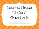 2nd Grade CCSS ELA I Can Standards