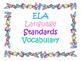 2nd Grade CCSS ELA Vocabulary Cards Set 2