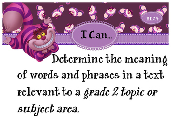 2nd Grade CCSS I Can Statement Cards - ELA - Reading Informational Text
