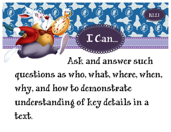 2nd Grade CCSS I Can Statement Cards - ELA - Reading Literature