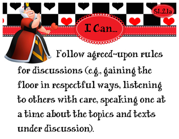 2nd Grade CCSS I Can Statement Cards - ELA - SPEAKING AND LISTENING