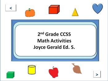 2nd Grade CCSS Math Operations & Algebraic Reasoning and N