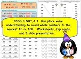2nd Grade CCSS.Math.Content.3.NBT.A.1 Rounding to nearest