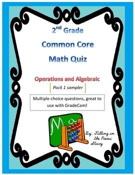 2nd Grade CCSS Math  Review (GradeCam)