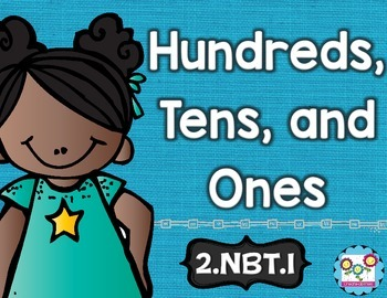 Hundreds Tens and Ones Math Tasks and Exit Tickets
