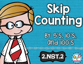 Skip Counting Math Tasks and Exit Tickets