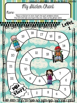 2nd Grade CCSS Word Problem Bundle