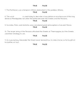 2nd Grade CKLA L & L : Domain 3 Ancient Greek Civi. Alternative Assessment