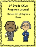 2nd Grade CKLA Journal - Domain 12 Fighting for a Cause