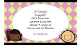 CKLA Listening and Learning Domain 4 Lesson 5